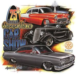 25th Annual Orange Plaza Car Show @ Old Towne, Orange Historic District | Orange | California | United States