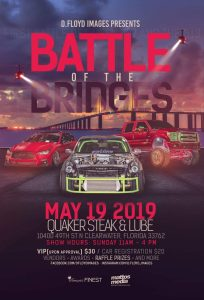 Battle of the Bridges @ Quaker Steak and Lube | Clearwater | Florida | United States