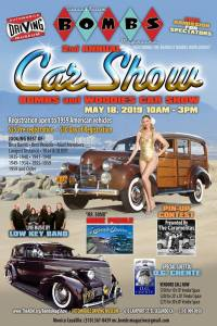 Bombs Mag & Woodies Show @ Automotive Driving Museum | El Segundo | California | United States