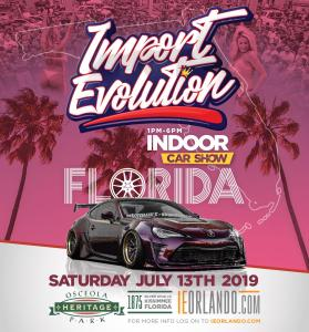 Import Evolution Car Show @ Osceola Heritage Park | Kissimmee | Florida | United States