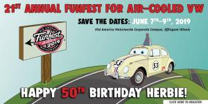 Funfest for Air-Cooled VW @ Mid America Motorworks | Effingham | Illinois | United States