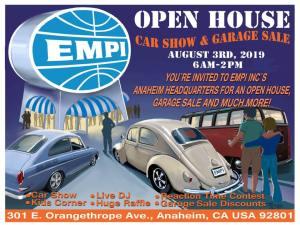 EMPI Open House @ Anaheim, California | Anaheim | California | United States