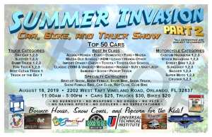 Summer Invasion 2 Car & Bike Truck Show @ Orlando, Florida | Orlando | Florida | United States