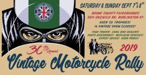 30th Annual Vintage Motorcycle Show @ Bulington, Kentucky | Burlington | Kentucky | United States