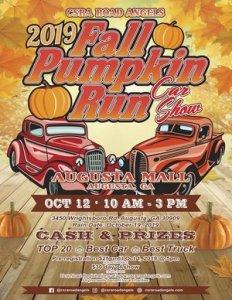 Fall Pumpkin Run Car Show @ Augusta, Georgia | Augusta | Georgia | United States