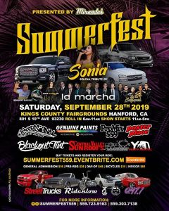 Summerfest Car and Truck Show @ Hanford, California | Hanford | California | United States