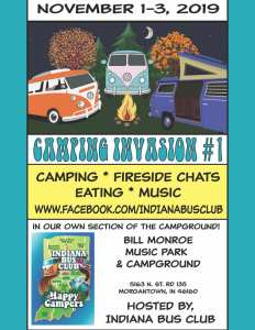 Indiana Bus Club Camping Invasion #1 @ Beanblossom, Indiana | Morgantown | Indiana | United States