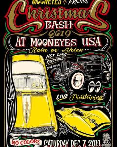 2019 Mooneyes Christmas Bash @ Mooneyes | Norwalk | California | United States