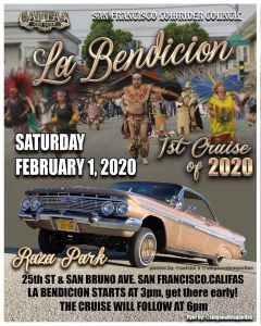 San Francisco Lowrider Council 1st Cruise of 2020 @ San Francisco | San Francisco | California | United States