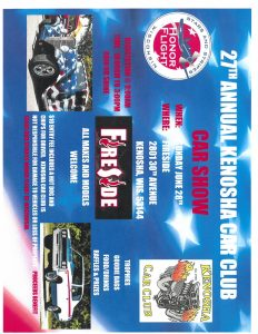 27th Annual Kenosha Car Club Car Show @ 27th Annual Kenosha Car Club Car Show | Kenosha | Wisconsin | United States