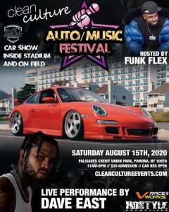Clean Culture NY Auto/Music Fest - Season Opener @ New York Boulders Baseball | Pomona | New York | United States
