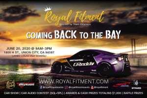 Royal Fitment Bay Area 2020 @ James Logan High School | Union City | California | United States