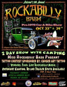 9th Annual AZ Rockabilly Bash @ Pleasant Harbor | Peoria | Arizona | United States
