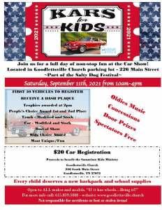 Kars for Kids @ Goodlettsville Church | Goodlettsville | Tennessee | United States