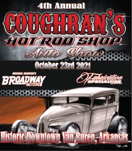 Coughrans Hot Rod Shop Auto Show @ Van Buren | Arkansas | United States