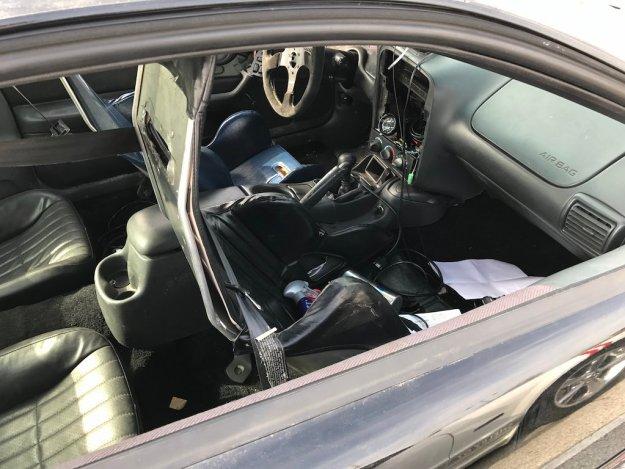 Columbus Cars and Coffee gen 4 Camaro interior