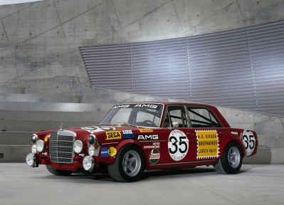 """Mercedes Benz 300 SEL """"The Red Pig"""""""