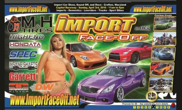 IImport Face-off 2016 Discount