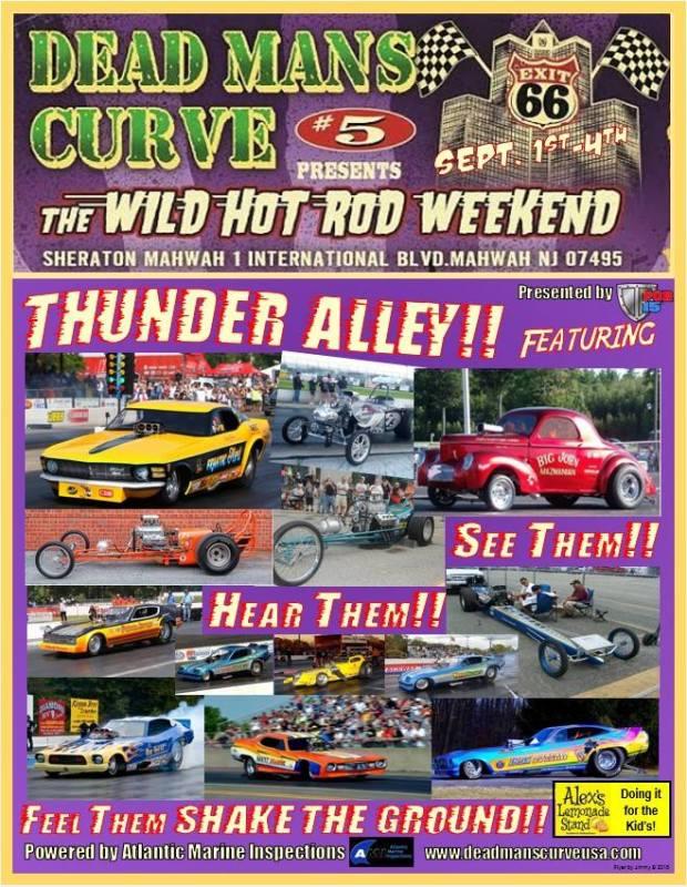 Dead Mans Curve 2016 Show Flyer