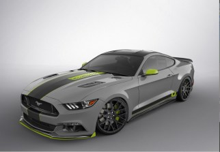 SEMA 2016 - 2017 Ford Mustang Fastback by CJ Pony Parts