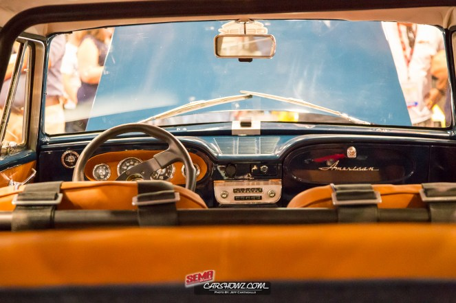 Front dash of the 1963 AMC Rambler American 440 Wagon