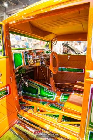 1930 Model A Tudor Sedan Interior 2