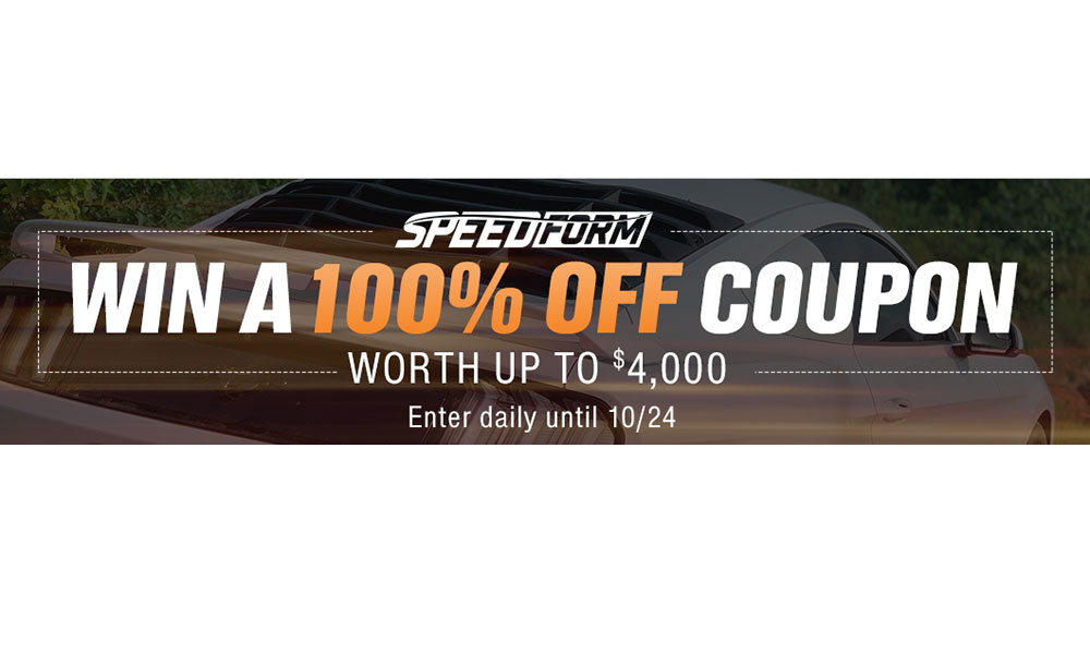 Win a 4K Credit Courtesy of AmericanMuscle