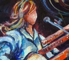 Sing Your Life, painting by Susan Carson