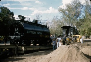 Moving Engine #18 to Independence 08-02-1955