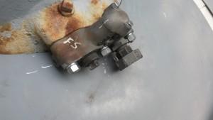 The rebuilt sander actuating valve.