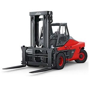 Internal Combustion Counterbalanced Pneumatic Tire Trucks Linde Forklift Carson Material Handling