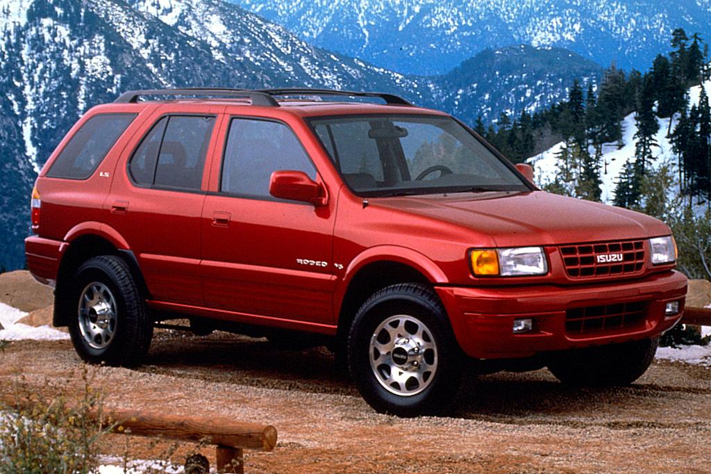 Isuzu Rodeo Ii 1998 2004 Suv 5 Door Outstanding Cars