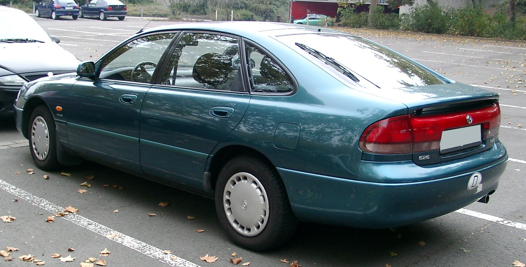hight resolution of mazda 626 iv ge 1992 1997 sedan 7