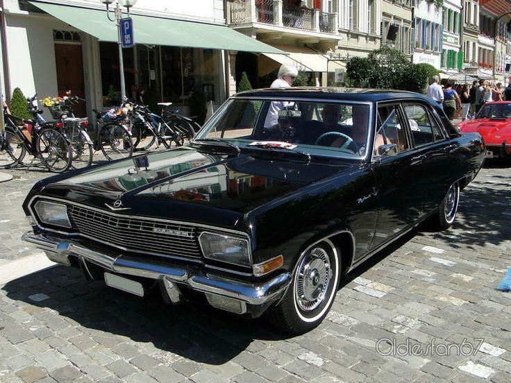 Opel Diplomat A 1964 - 1968 Sedan :: OUTSTANDING CARS