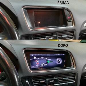 CAR TABLET ANDROID 9″ DA INCASSO  Audi Q5 / A4 / A5