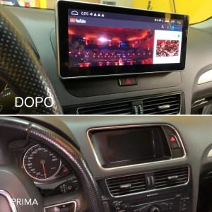 Navigatore Android  Audi Q5 MMI senza navigatore