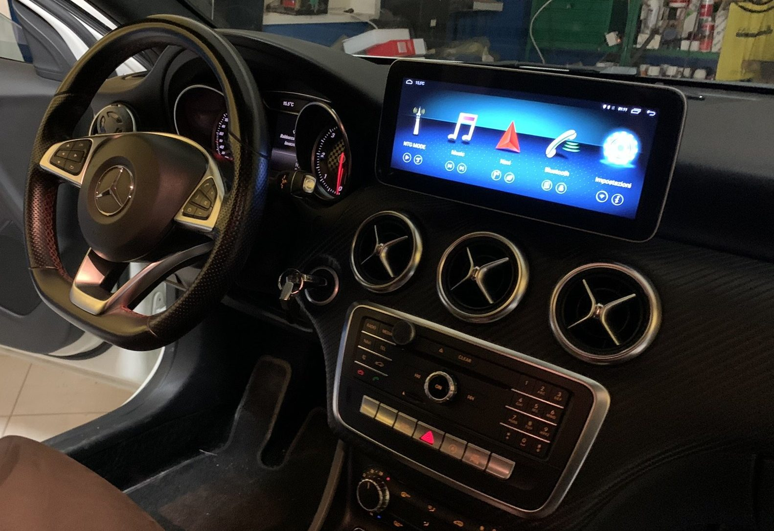 CAR TABLET ANDROID 10.25″ MERCEDES