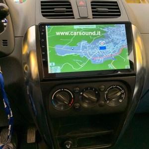 """10 """"touchscreen Android autoradio FULL TOUCH  USB  Navigazione GPS per Suzuki SX4 Fiat 16"""