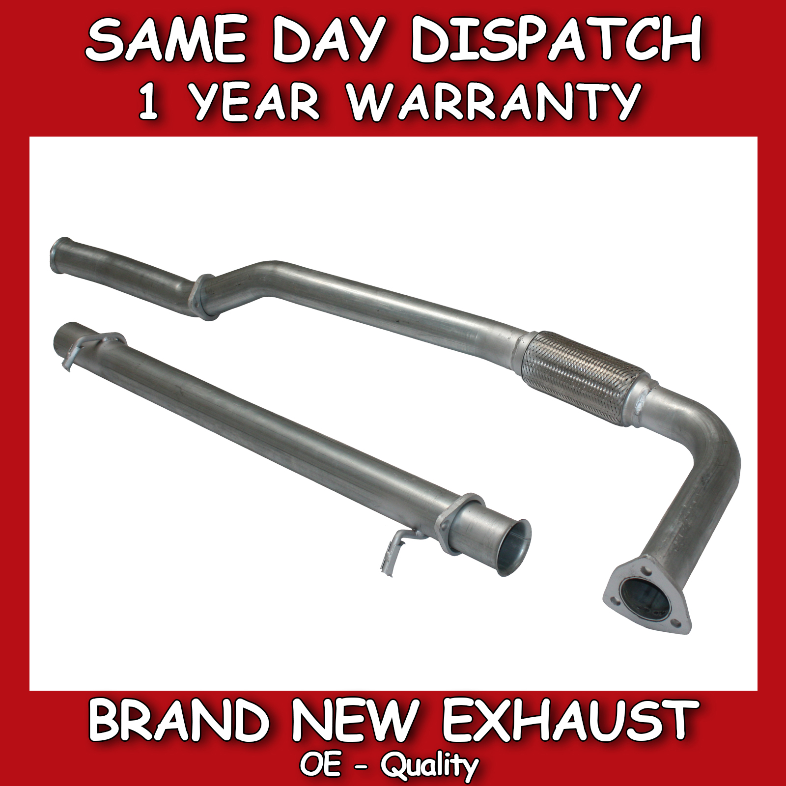 hight resolution of brand new exhaust
