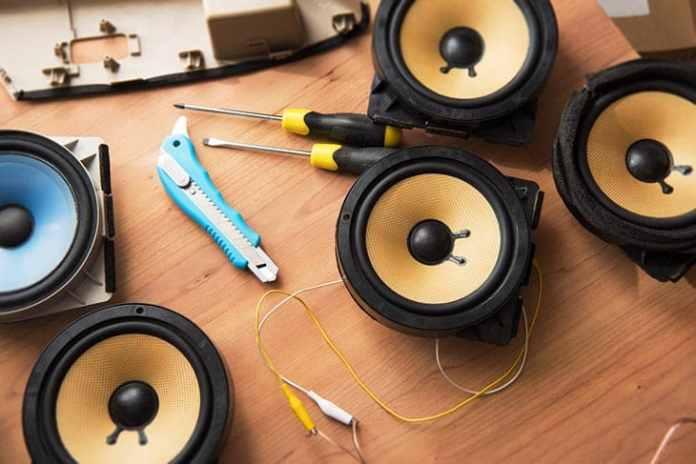car speakers installation