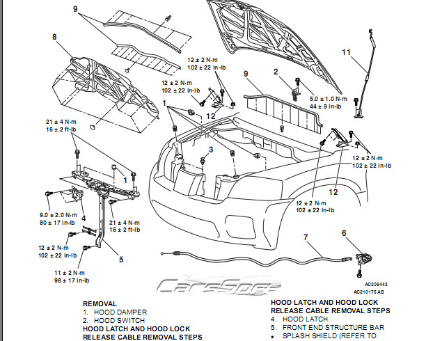 Каталог запчастей Mitsubishi Endeavor 2003-2006 Service