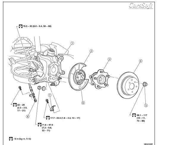 Ремонт автомобиля Nissan Maxima QX A34 2004-2008 ESM
