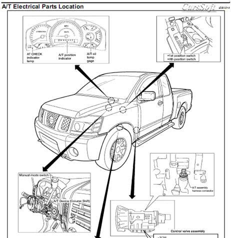 Ремонт автомобиля Nissan Titan A60 2004-2008 ESM