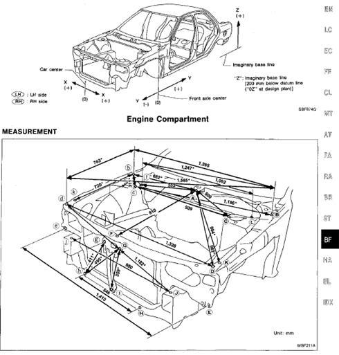 Ремонт автомобиля Nissan Infiniti G20, P10 series 1992