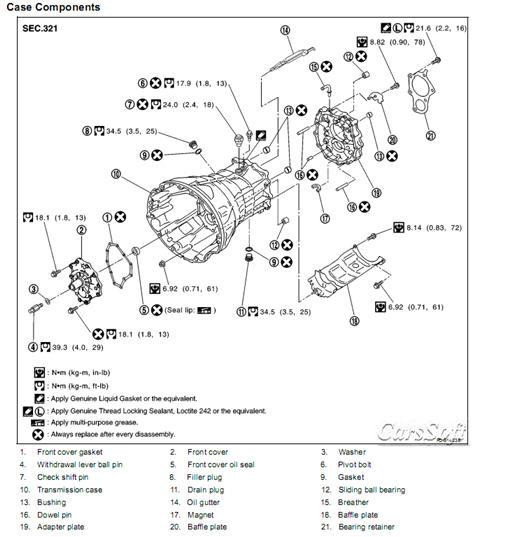 Каталог запчастей Nissan Pathfinder R51 2005-2007