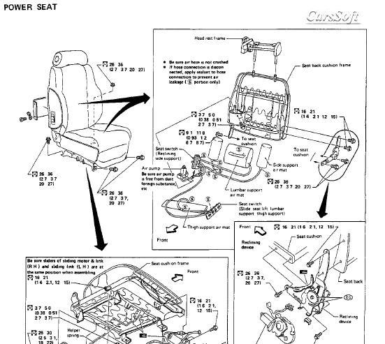 Ремонт автомобиля Nissan 300ZX Z31 series 1983-1985 ESM