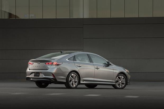 The 2019 Sonata Plug-In Hybrid Spy Shoot