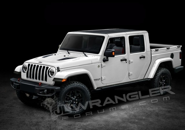 New 2019 Jeep Wrangler Diesel Concept