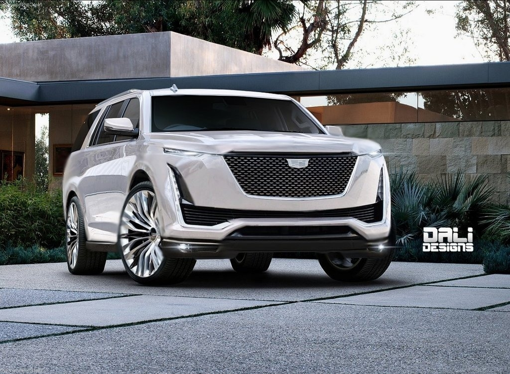 New Images Of 2019 Cadillac Escalade Redesign • Cars