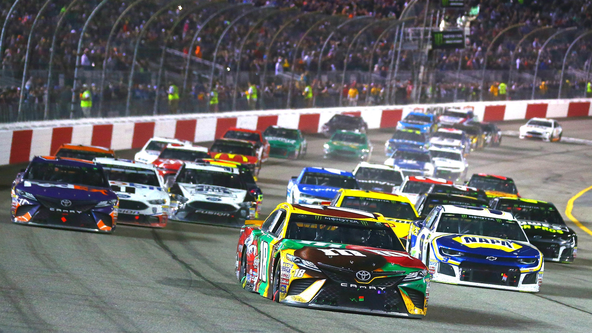nascar going all electric